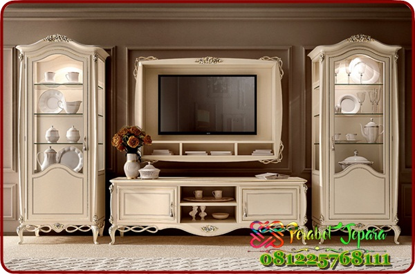 Furniture Set Bufet Tv Klasik Terbaru