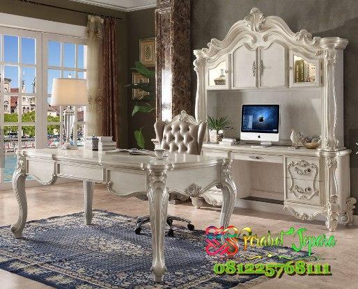 Furniture Set Meja Kantor Klasik Terbaru