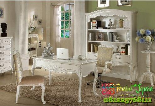 Model Set Meja Kantor Klasik Eropa