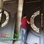Real Pict Gambar Pintu Kupu Tarung Mewah