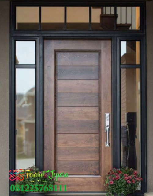 Gambar Pintu Depan 1 Daun Minimalis 2019