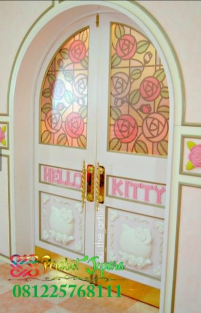 Pintu Hello Kitty Model Pintu Rumah Terbaru
