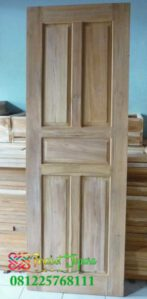 Pintu Kayu Mahoni Harga 1 Jutaan