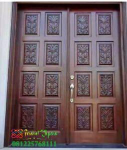 Pintu Ukir Minimalis Kriwil