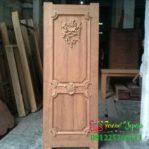 Pintu Ukir Minimalis Single Model Klasik