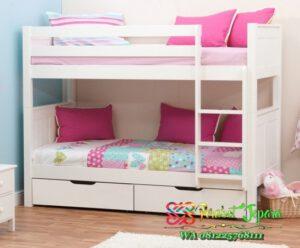 Tempat tidur tingkat solusi untuk kamar tidur anak ukuran 3 x 3 meter