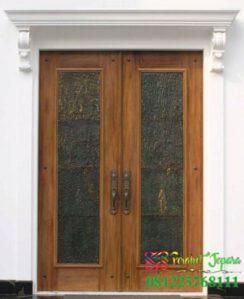 Desain Pintu Jati Antik Rumah Pattimura Residence