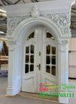 Pintu Ukir Mewah Untuk Rumah Klasik Eropa