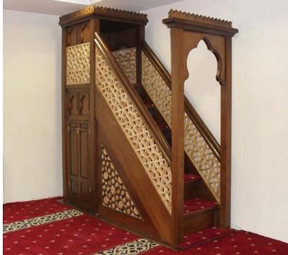 Mimbar Masjid Turki