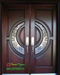 Pintu Kayu Jati Modern Terbaru 2020