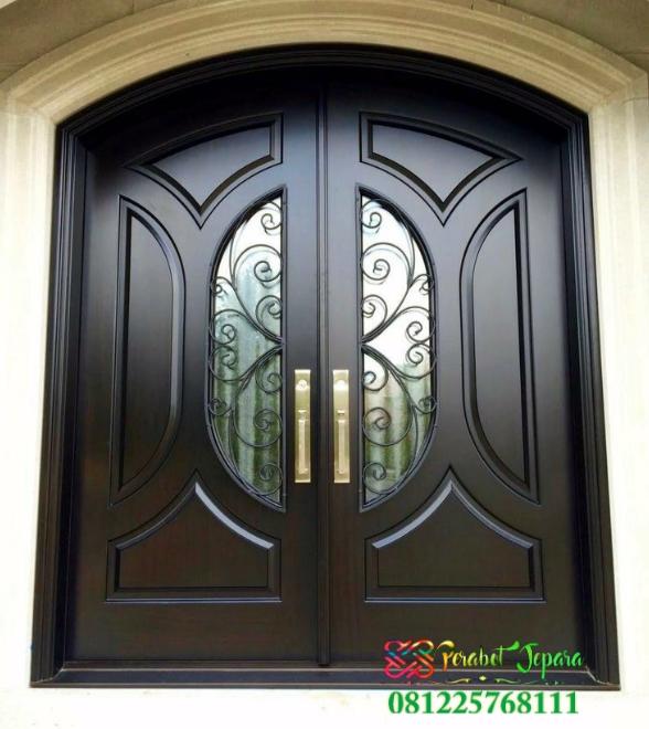 Pintu Minimalis Klasik Jati Jepara