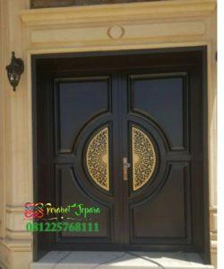 Pintu Rumah Elite Mewah Dari Kayu Jati